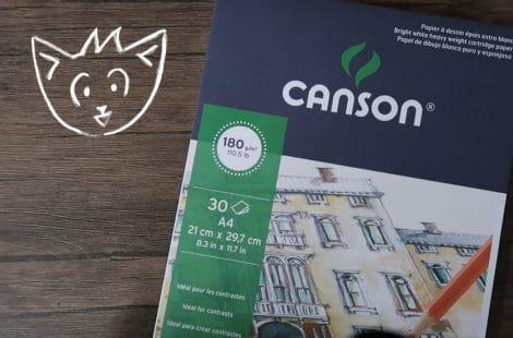 Review Canson 1557, Menggambar dengan pensil warna Joyko