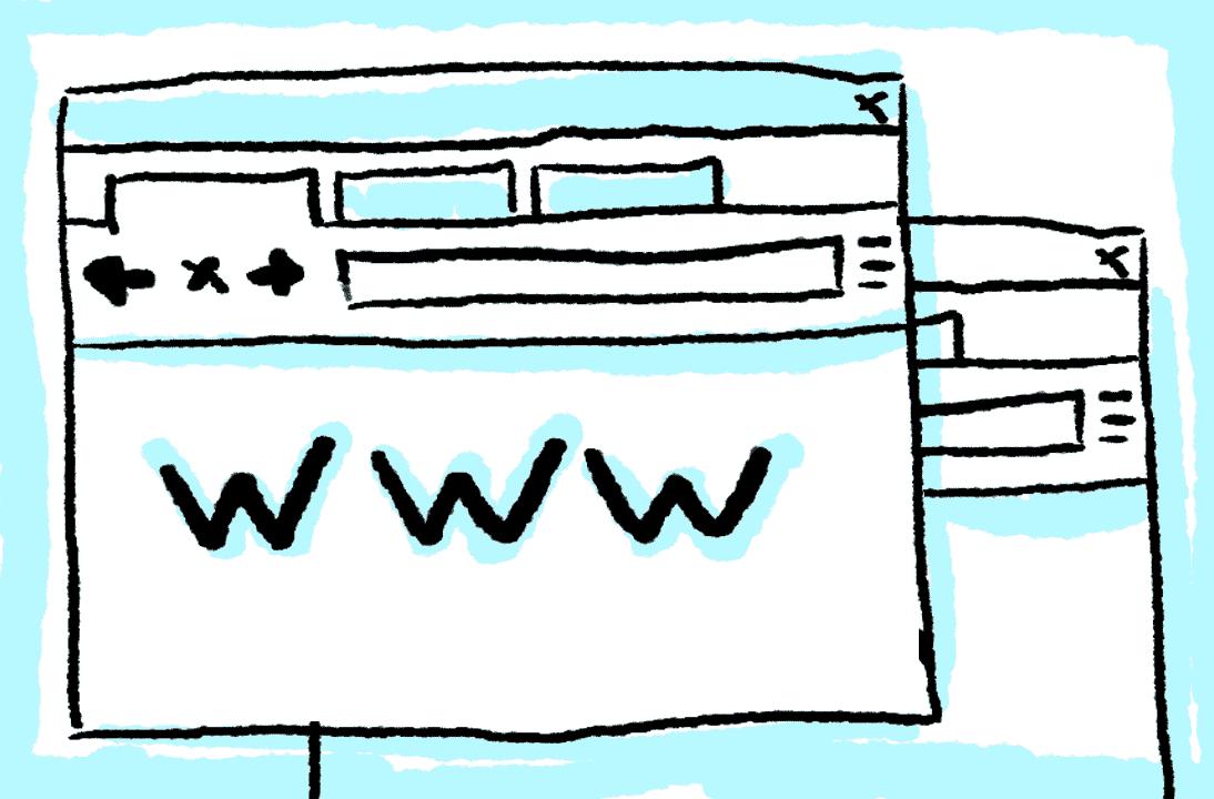 Browser Tabs Illustration