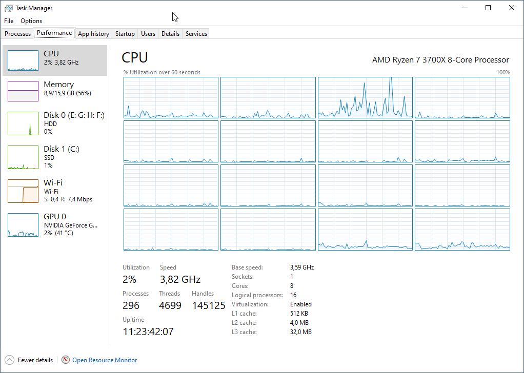 Jumlah core prosesor vs jumlah logical prosesor