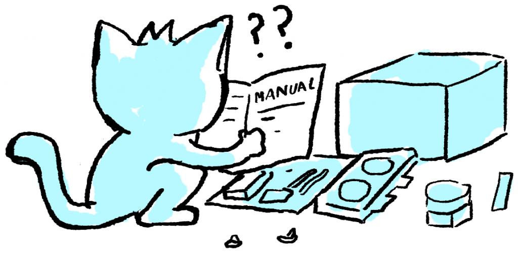 Merakit PC dengan membaca buku manual
