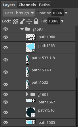 Group as layer in PSD