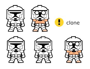 Clone in PSD