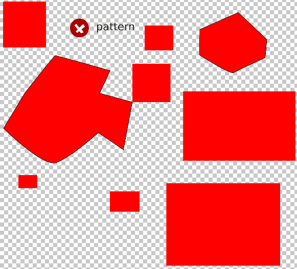 Patterns in PSD doesn't work