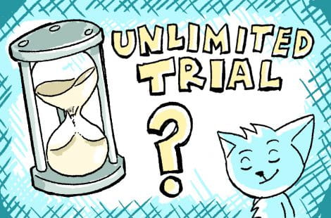 """Software Trial yang Unlimited, """"Gratis"""" Selamanya"""